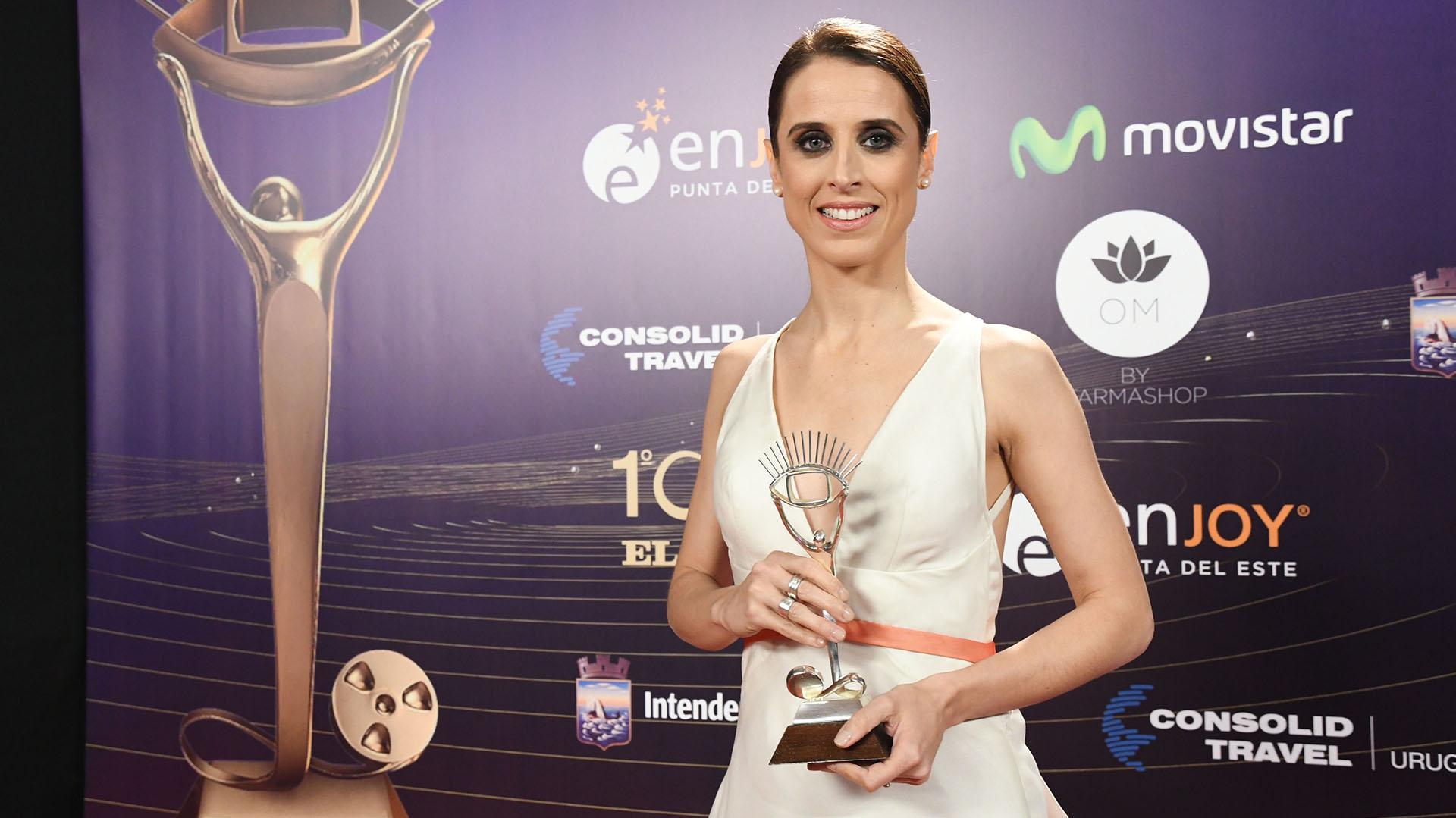 La bailarina María Noel Riccetto, ganadora del Iris a la trayectoria