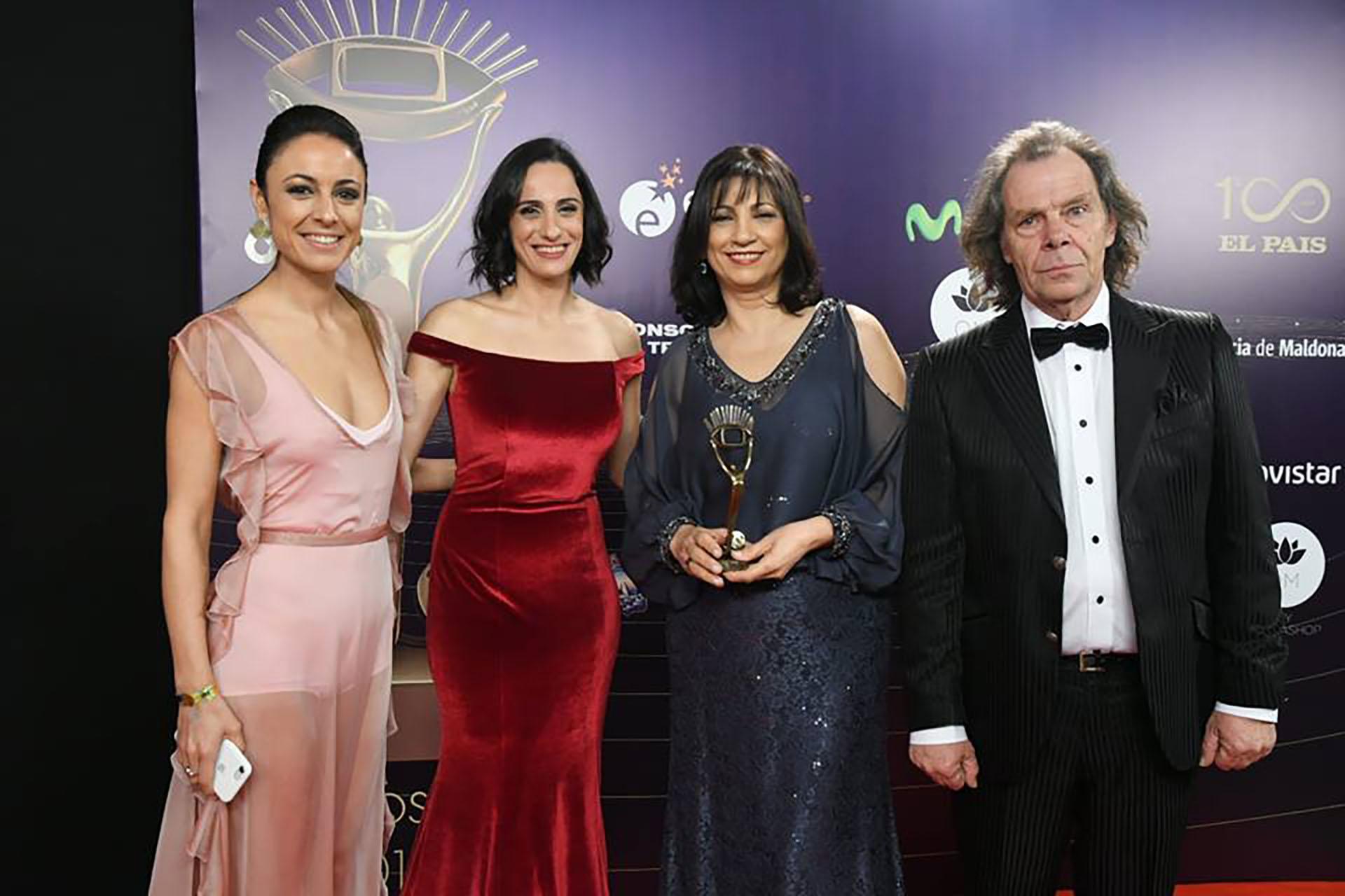 """Blanca Rodríguezy el equipo de """"Subrayado"""""""
