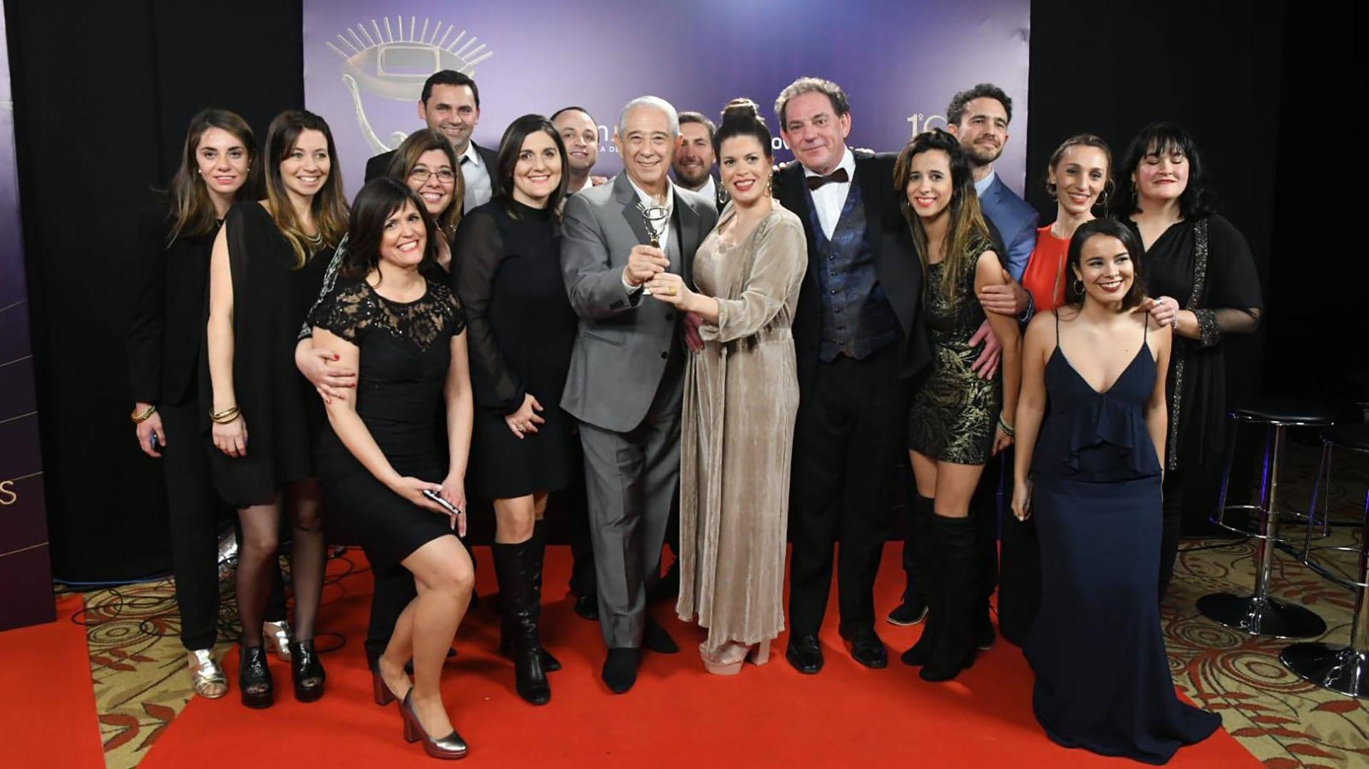 El equipo de Masterchef, Premio Iris de Oro