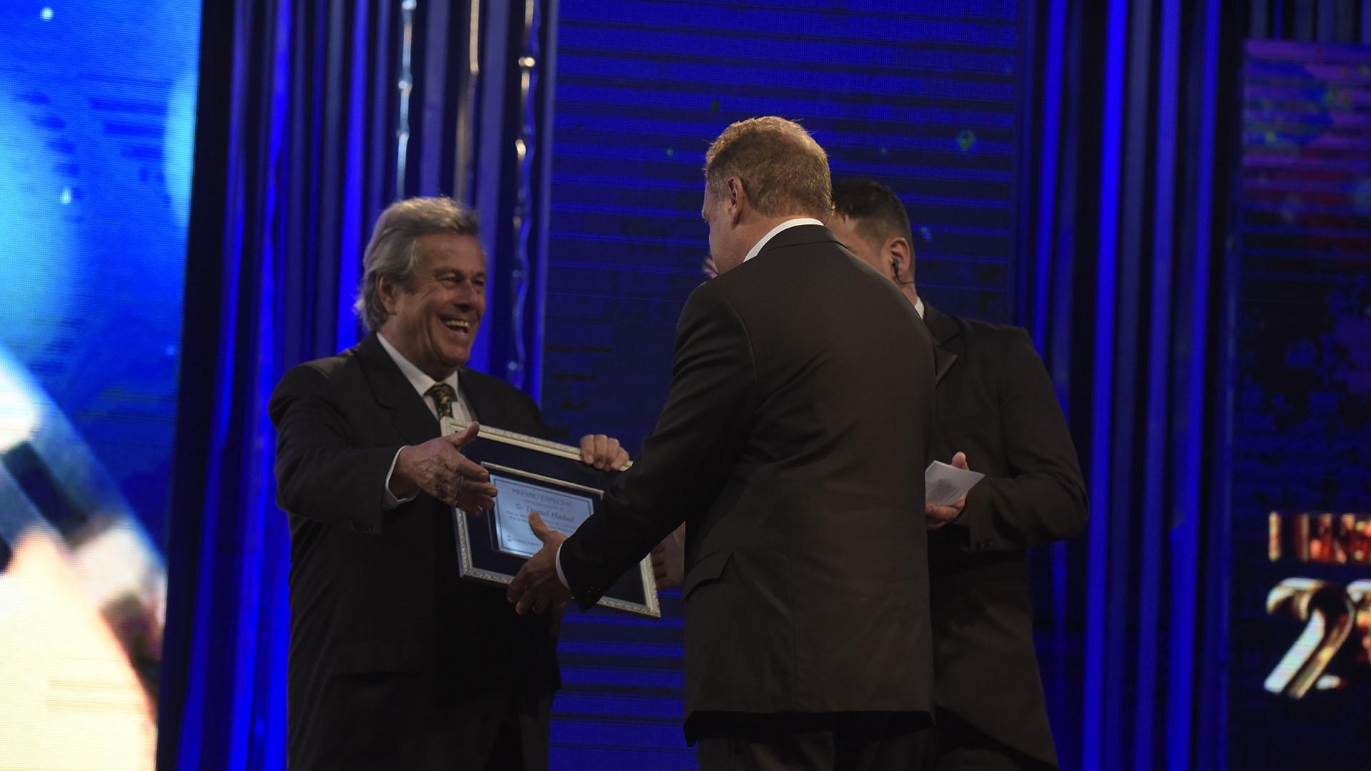 Daniel Hadad fue reconocido por su trayectoria