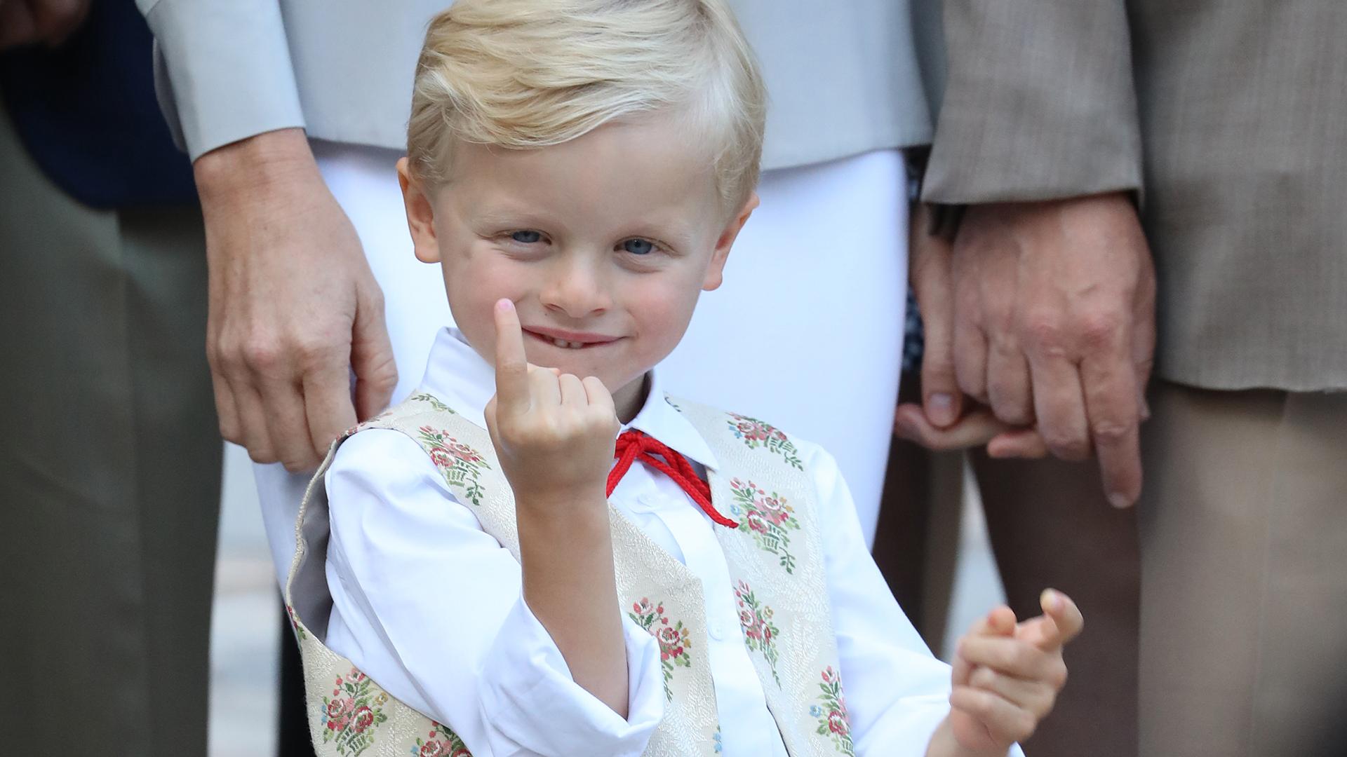 El príncipe Jacques es el heredero al trono de Mónaco