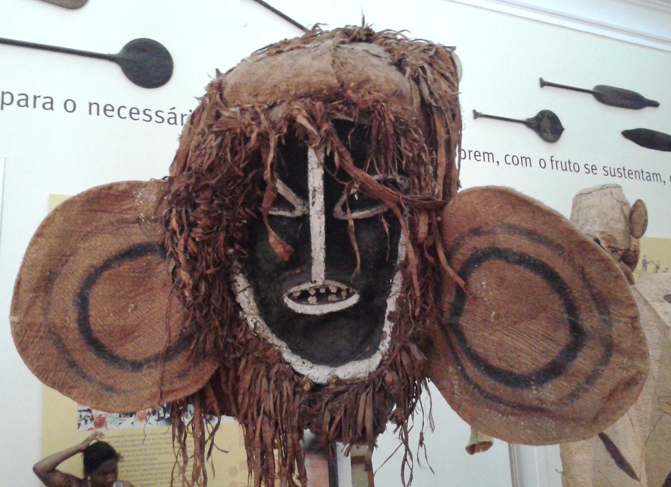 Máscara Ticuna, del acervo de etnologia indígena del Museo (Wikimedia Commons)