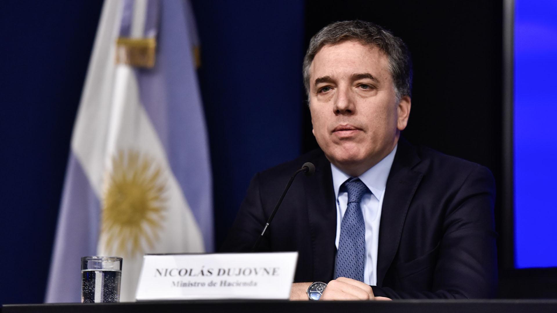 Nicolás Dujovne, ministro de Hacienda y Finanzas (Adrián Escandar)