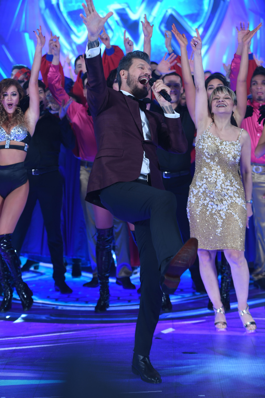 """La alegría de Marcelo Tinelli: """"Aprendí a bailar!!!"""", dijo entre risas"""