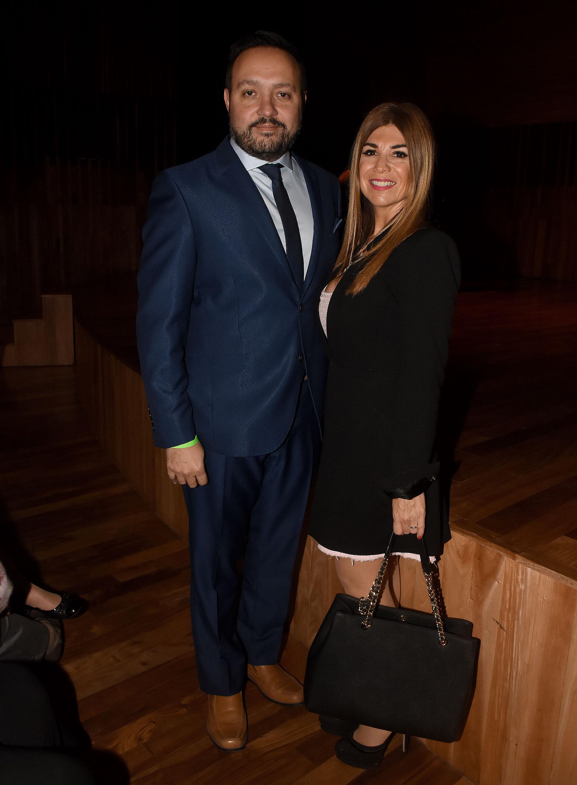 Diego Cani y Lina Anllo