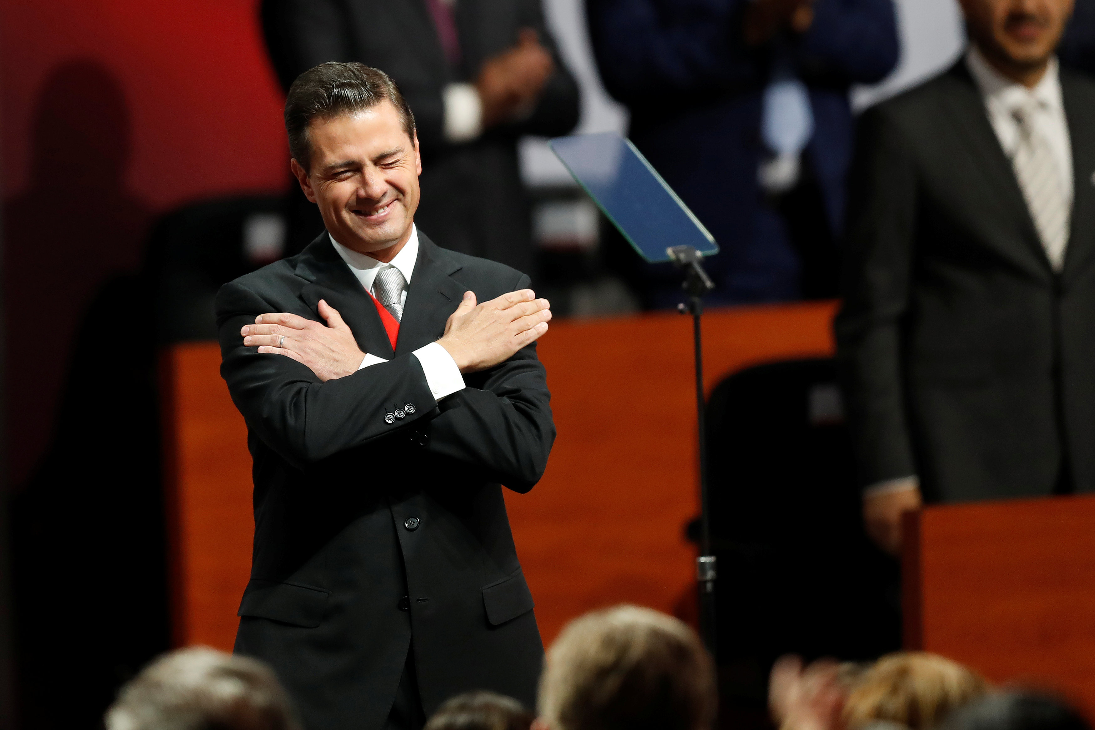 Peña Nieto entregará el poder el próximo sábado 1 de diciembre. (Foto: REUTERS/Carlos Jasso)