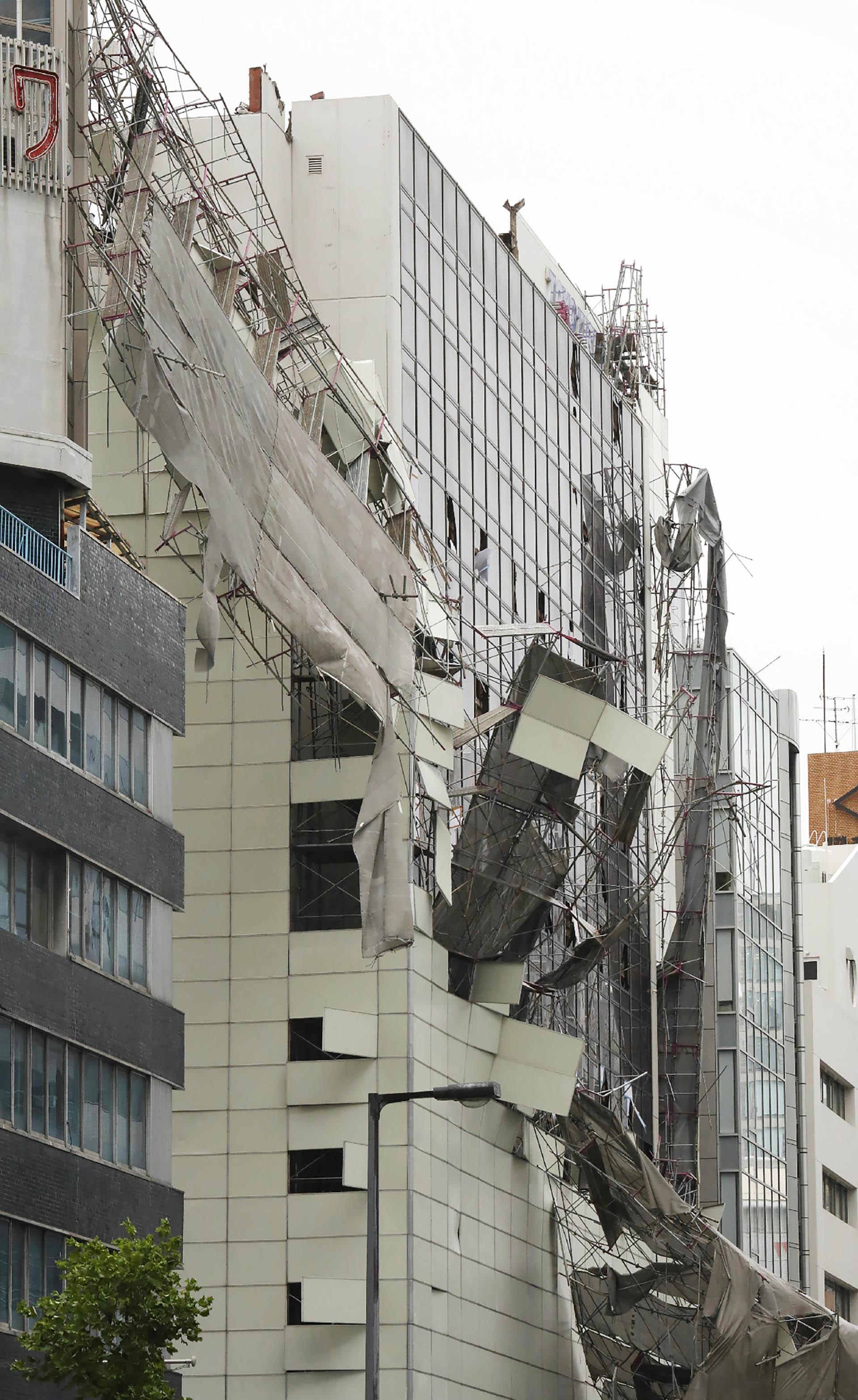 Los daños a la infraestructura son muy importantes (AFP)