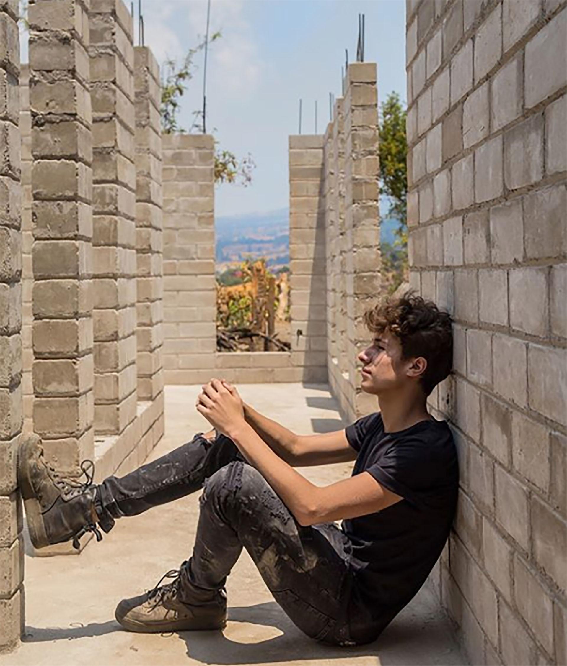 Fotos que Zurita ha posteado en su cuenta de Instagram sobre los avances en la obra