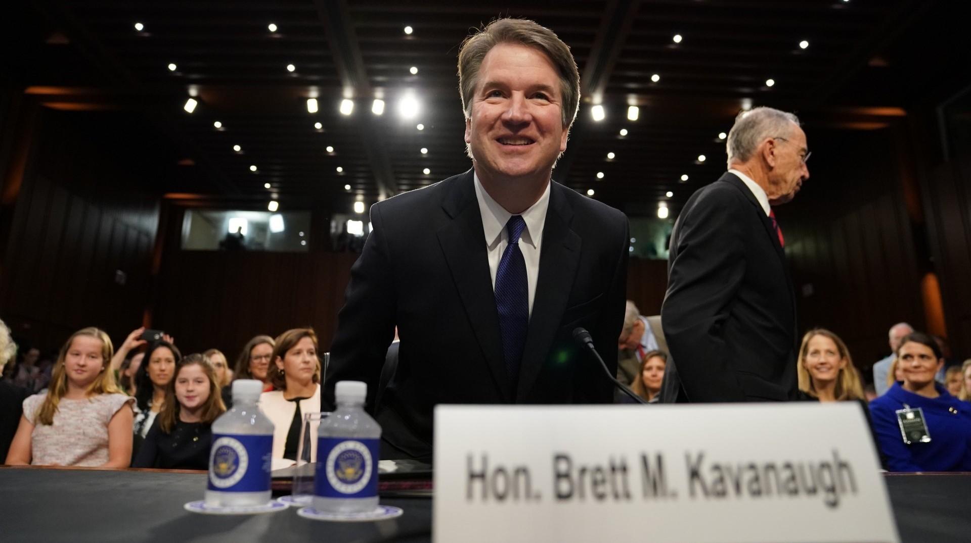 Brett Kavanaugh, nominado por Donald Trump para integrar la Corte Suprema de Justicia, durante una audiencia en el Comité de Justicia del Senado, el 4 de septiembre (AP Photo/Andrew Harnik)