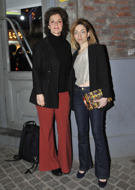María Onetto y Maida Andrenacci