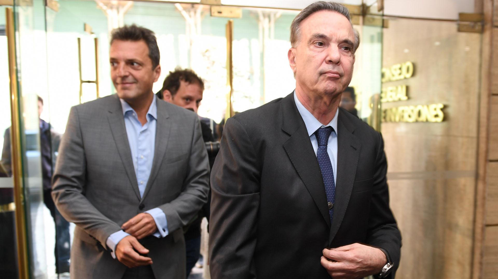 Sergio Massa y Miguel Pichetto viajarán a Tucumán para estar en el acto de Juan Manzur (Maximiliano Luna)
