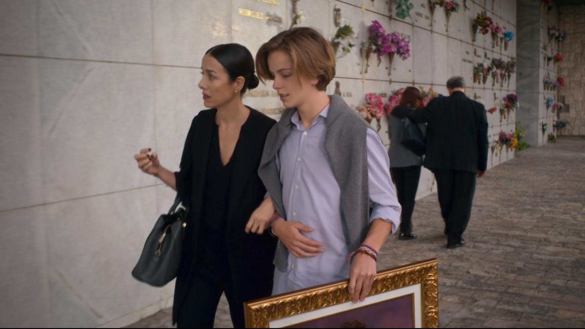 Cecilia Suárez con Luis de la Rosa (Luis Miguel, la serie), en la escena que cambió el destino de su personaje; y de la serie en su conjunto