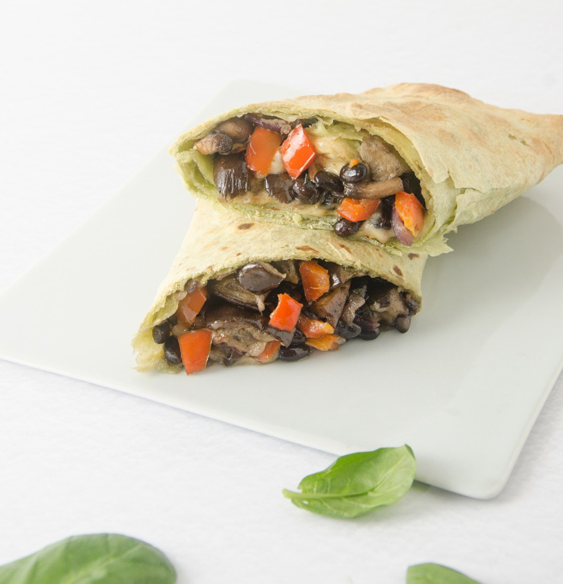 Cheese Veggie Roll, la propuesta de roll que ofrece Green Eat