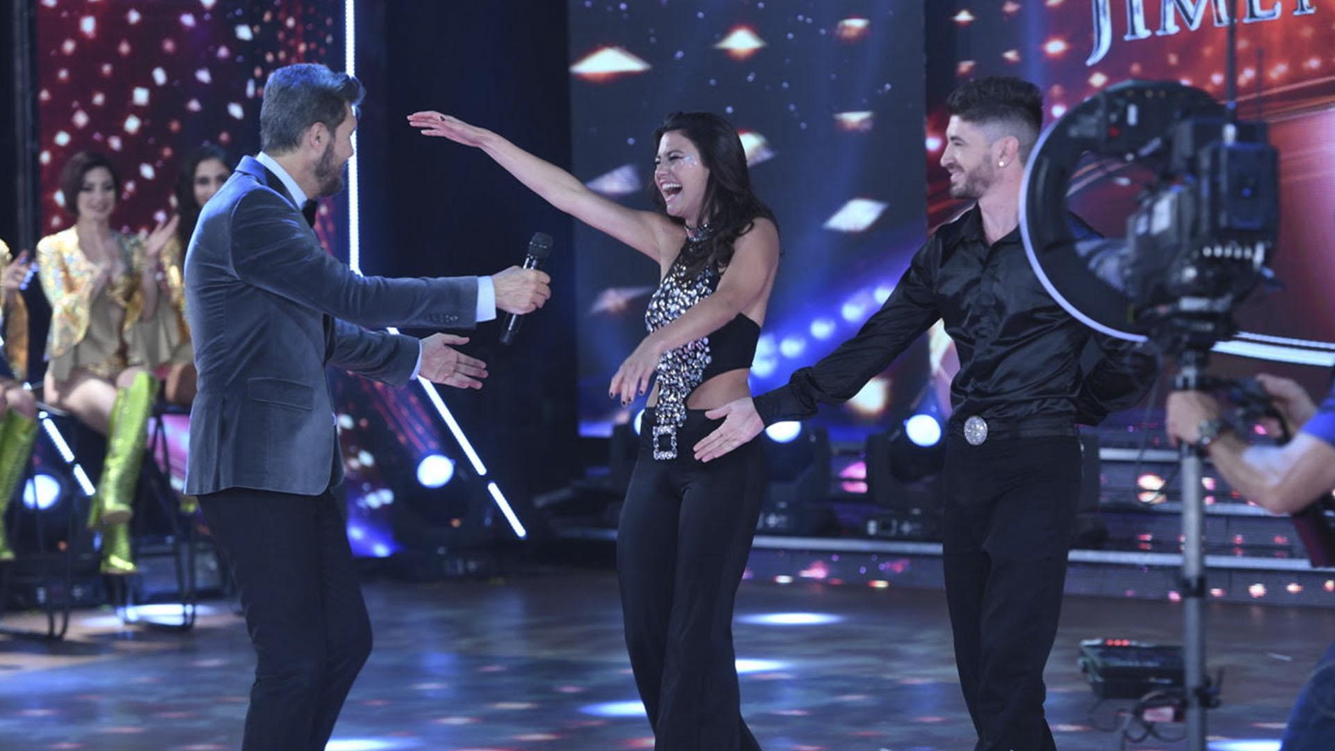"""""""Jujuy"""" fue pura simpatía y emoción en su debut en el """"Bailando"""""""