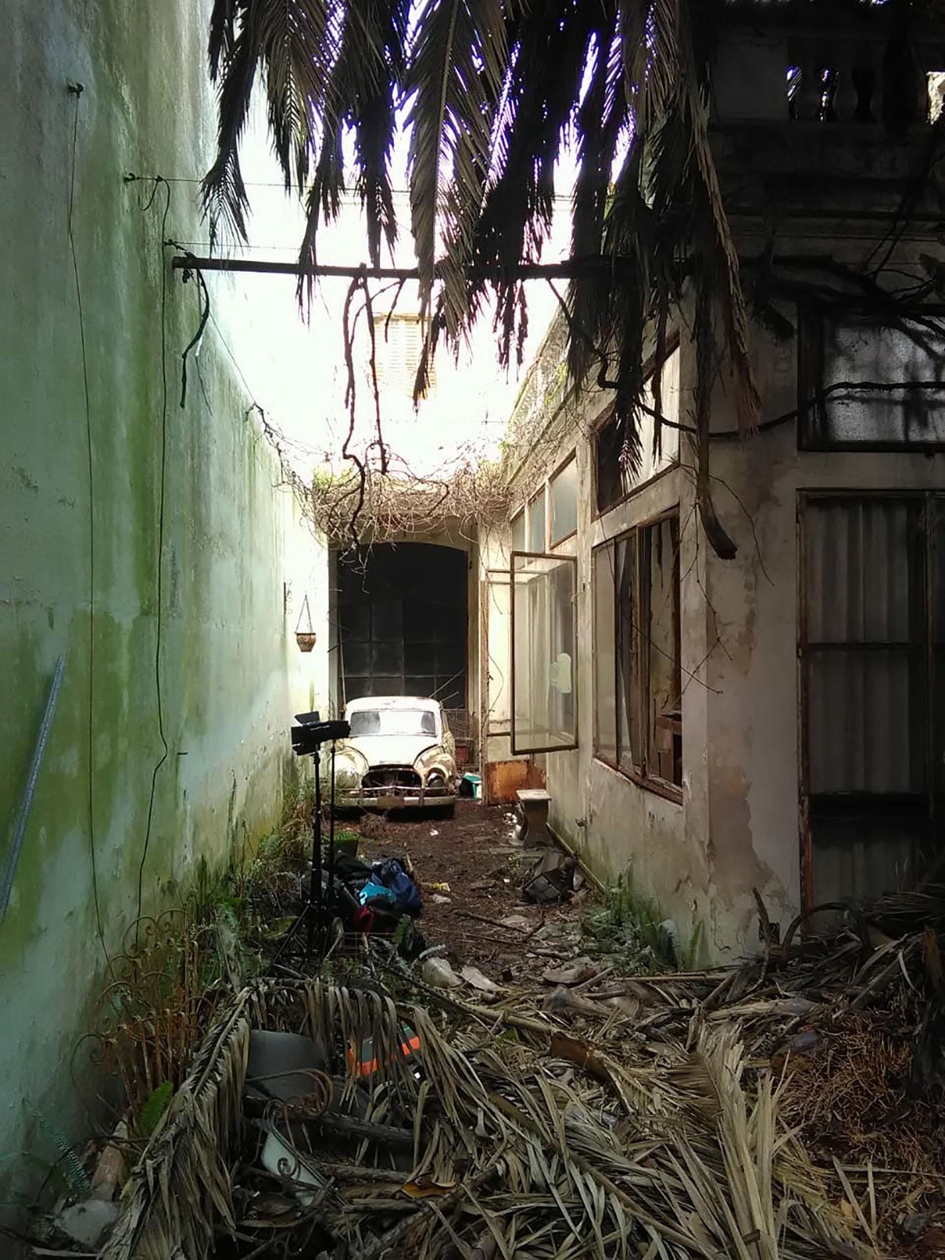La vivienda presenta hoy un fuerte deterioro y está en medio de una disputa judicial por la sucesión y un proceso de expropiación