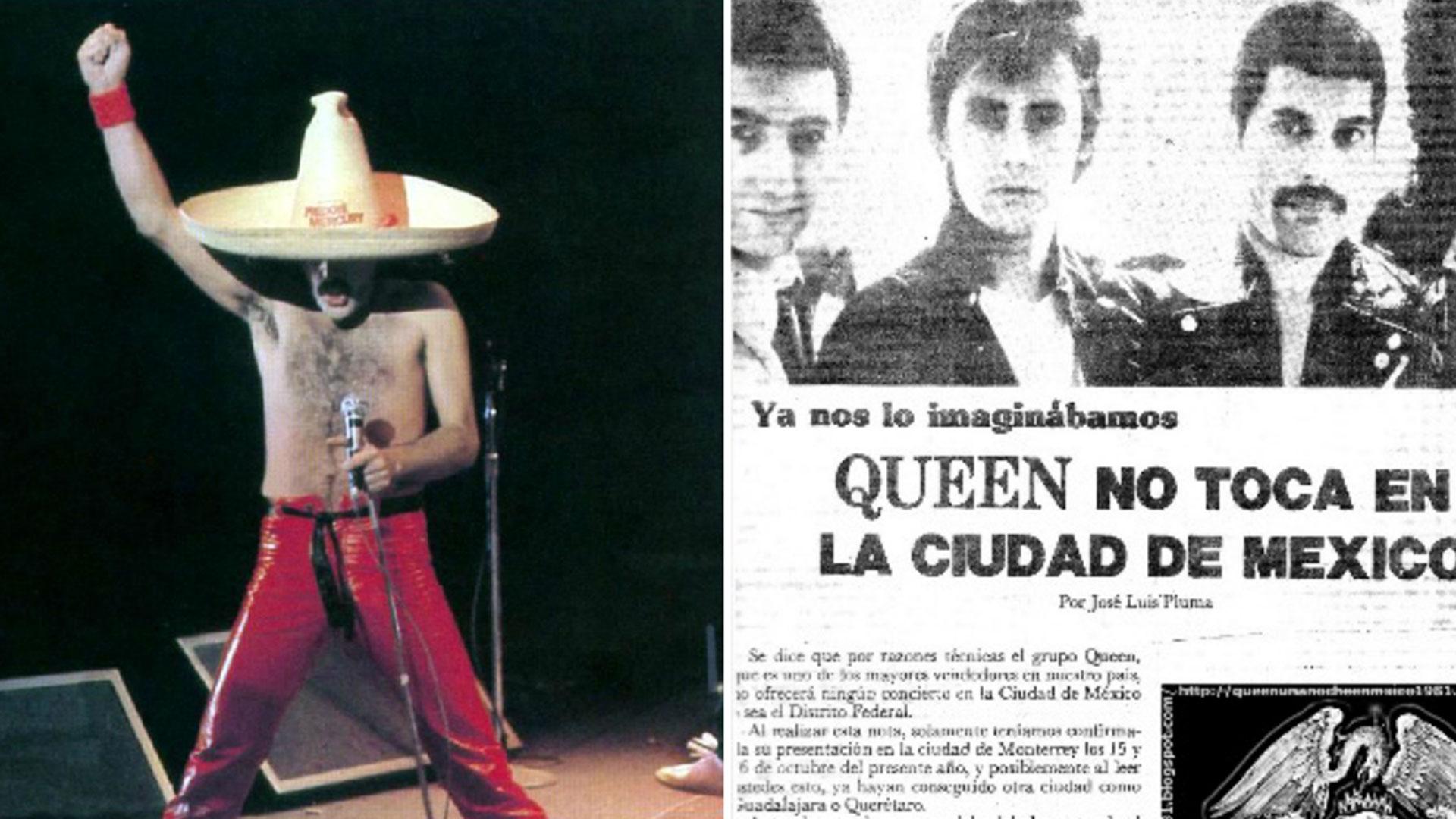 El día que Freddie Mercury ofendió a México y decidió no volver a presentarse en el país - Infobae