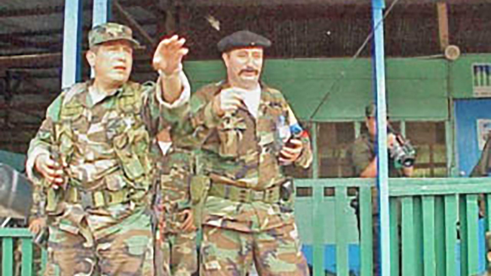 E xcomandantes de las FARC: alias 'John 40' y 'Mono Jojoy'.