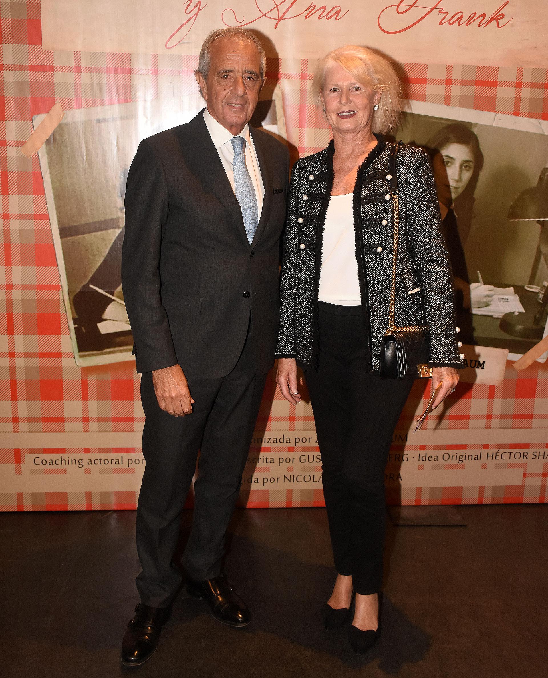 Rodolfo D'Onofrio y su esposa