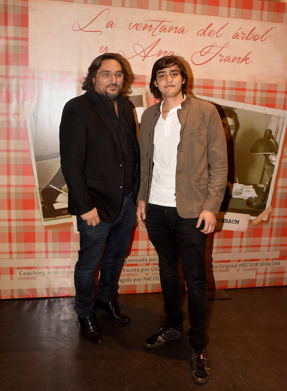 Martín Kweller y su hijo Andrés