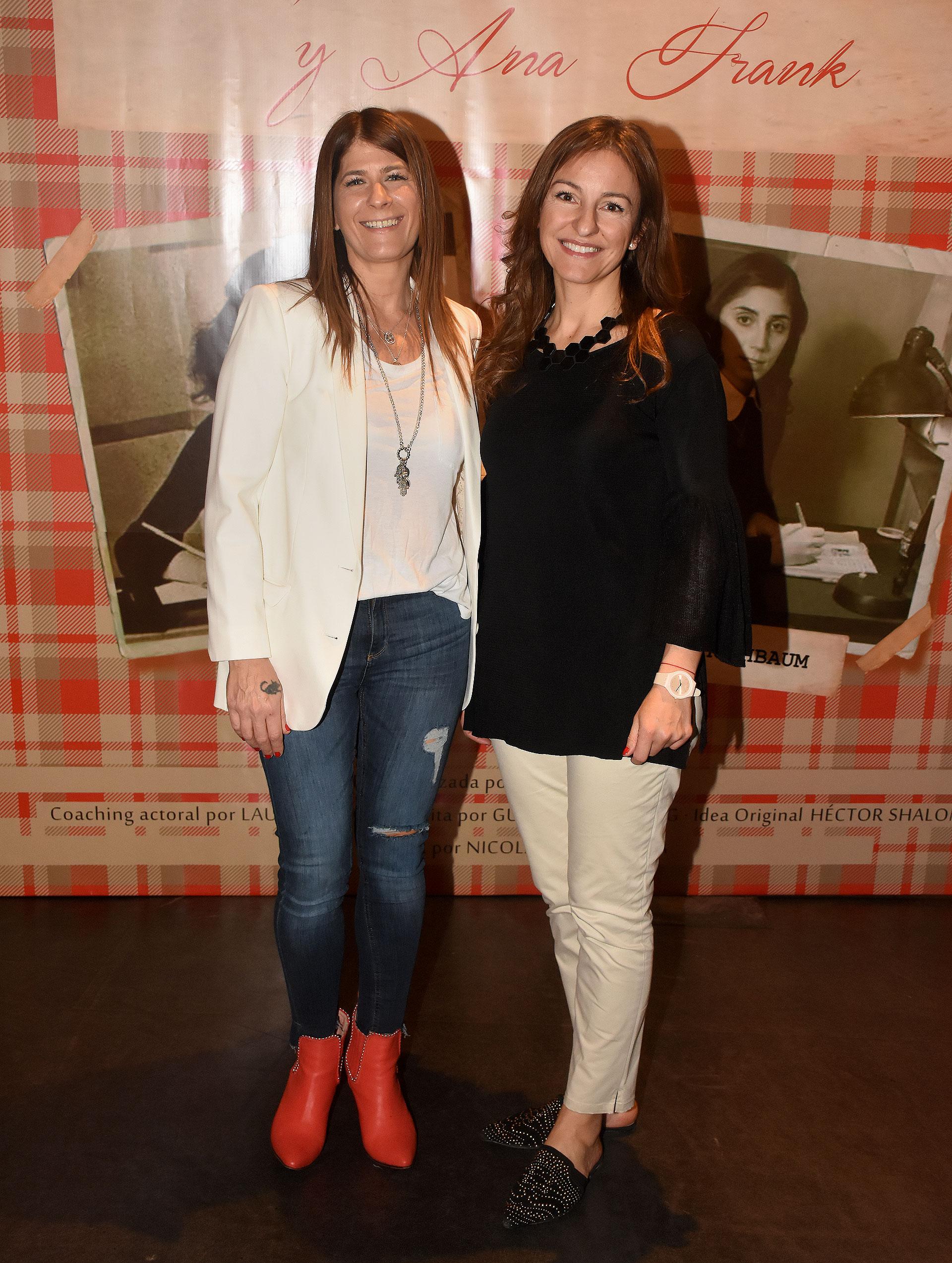 Guadalupe Tagliaferri y Soledad Acuña
