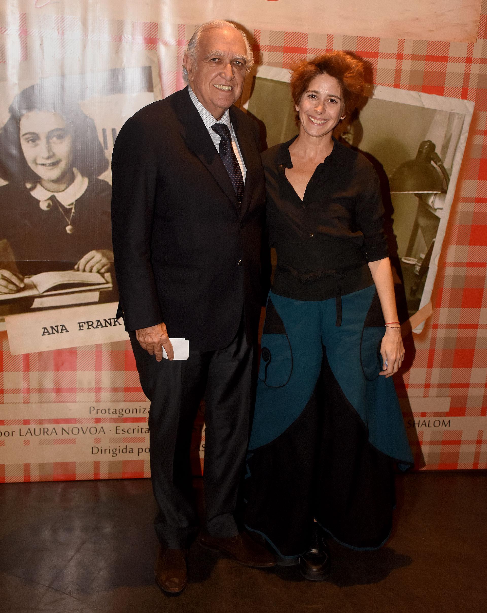 Ricardo Gil Lavedra y Laura Novoa