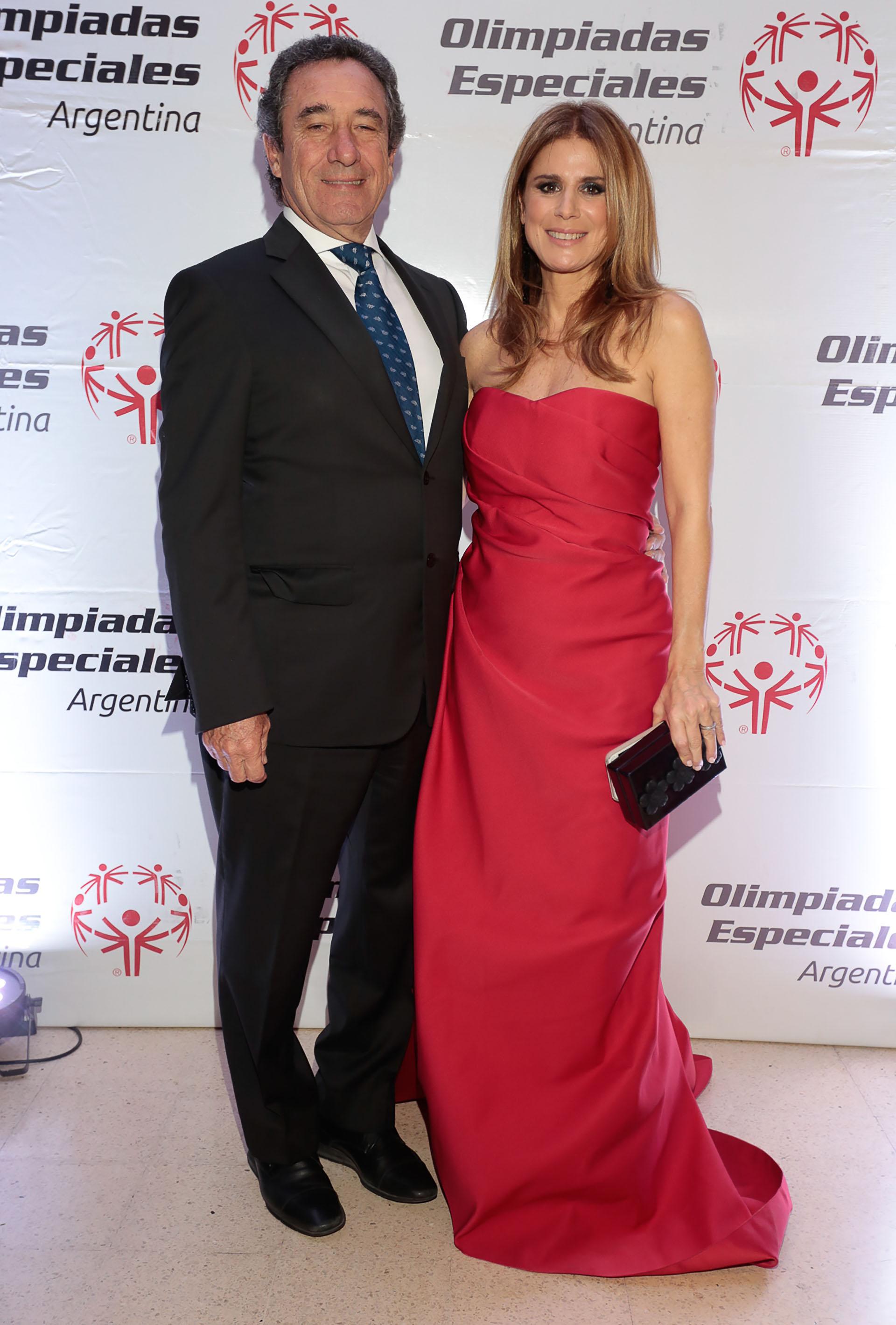 Luis Scalella y Flavia Palmiero