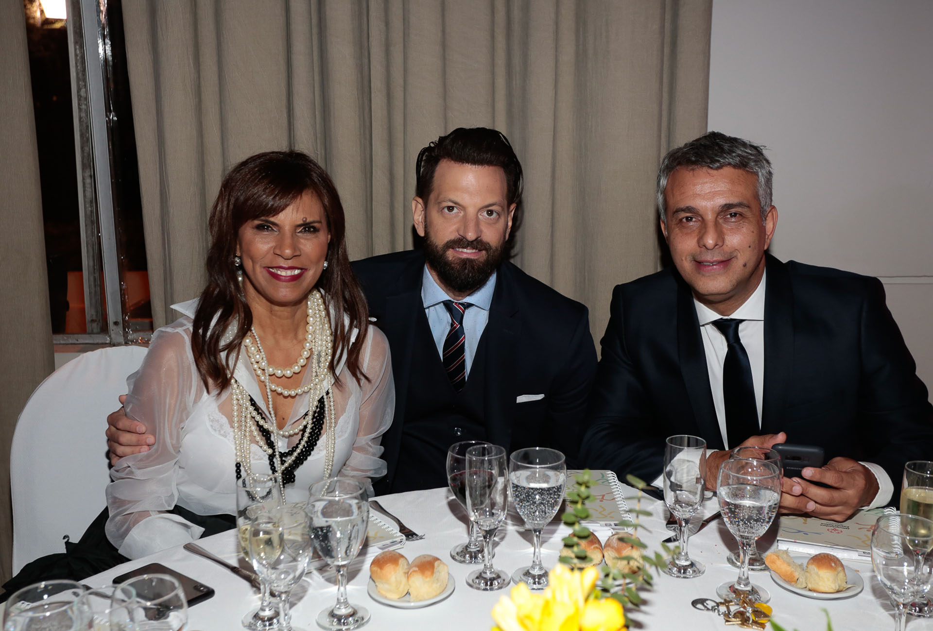 "Anamá Ferreira, Juan Manuel ""Rifle"" Varela y Mario Massaccesi"