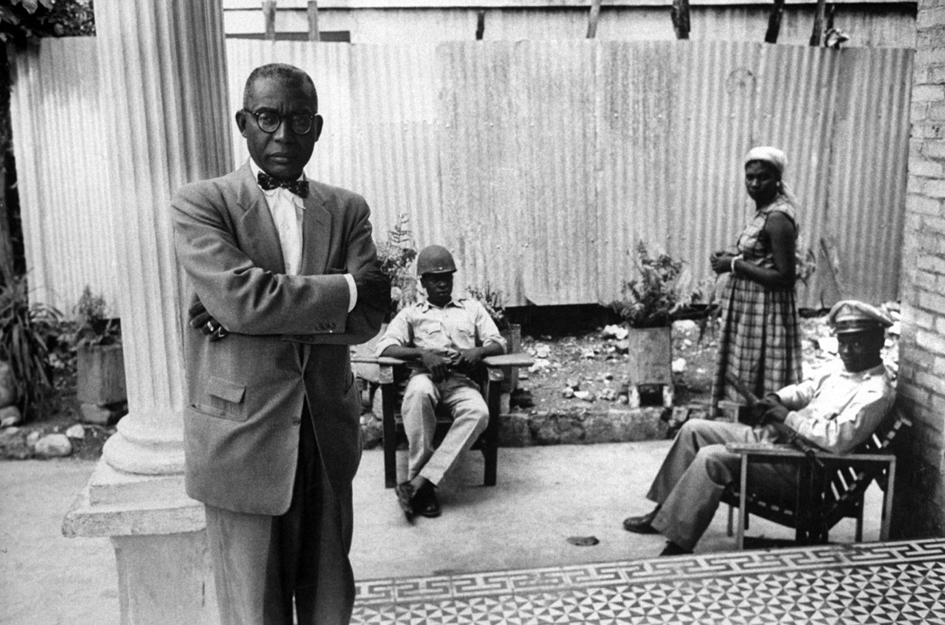"Francois ""Papa Doc"" Duvalier, autodenominado presidente vitalicio de Haití entre 1957 y 1971"