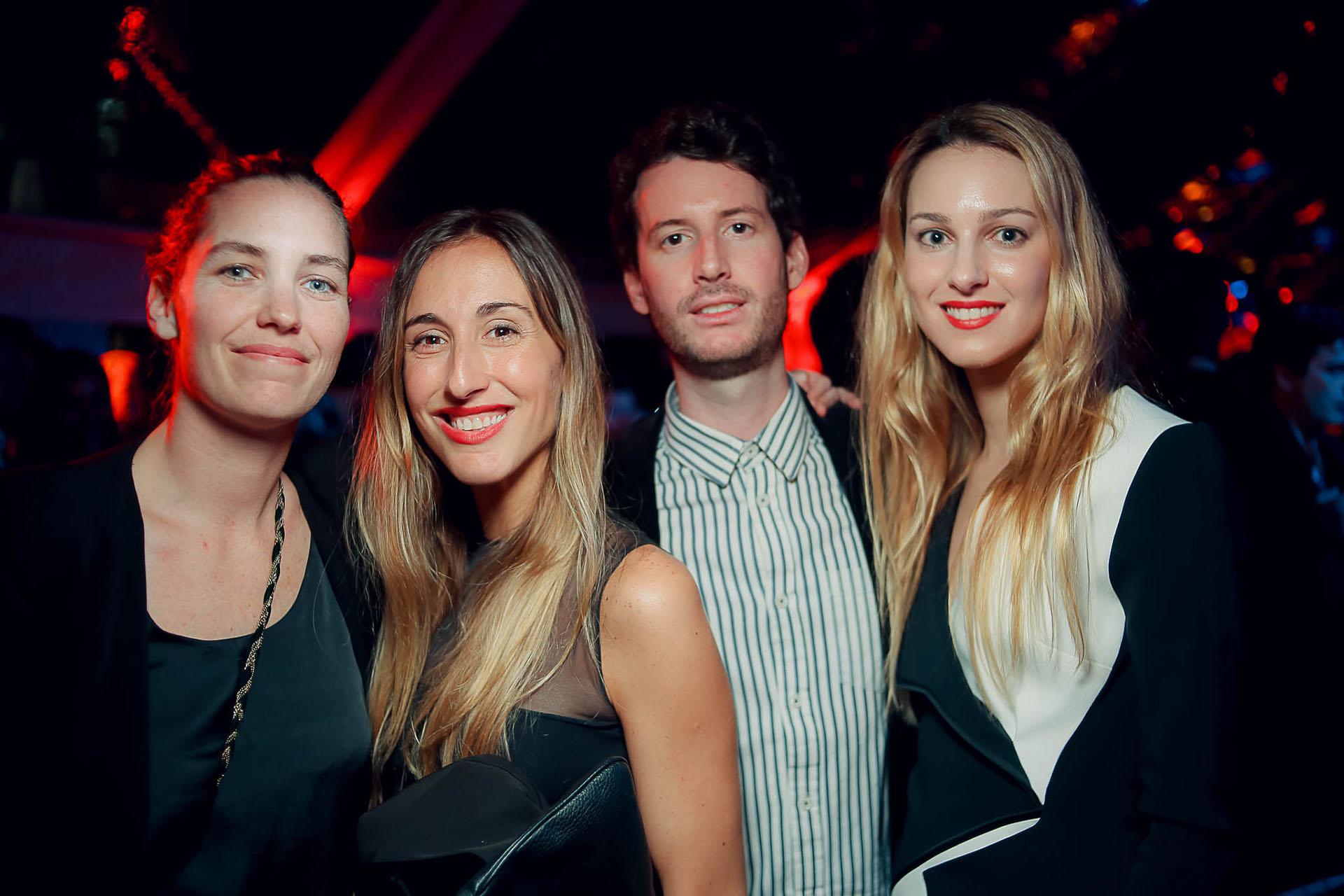 Olivia Mihanovich, Isabel Tassara, Juan Pablo Tombeur y Nieves Zuberbuhler