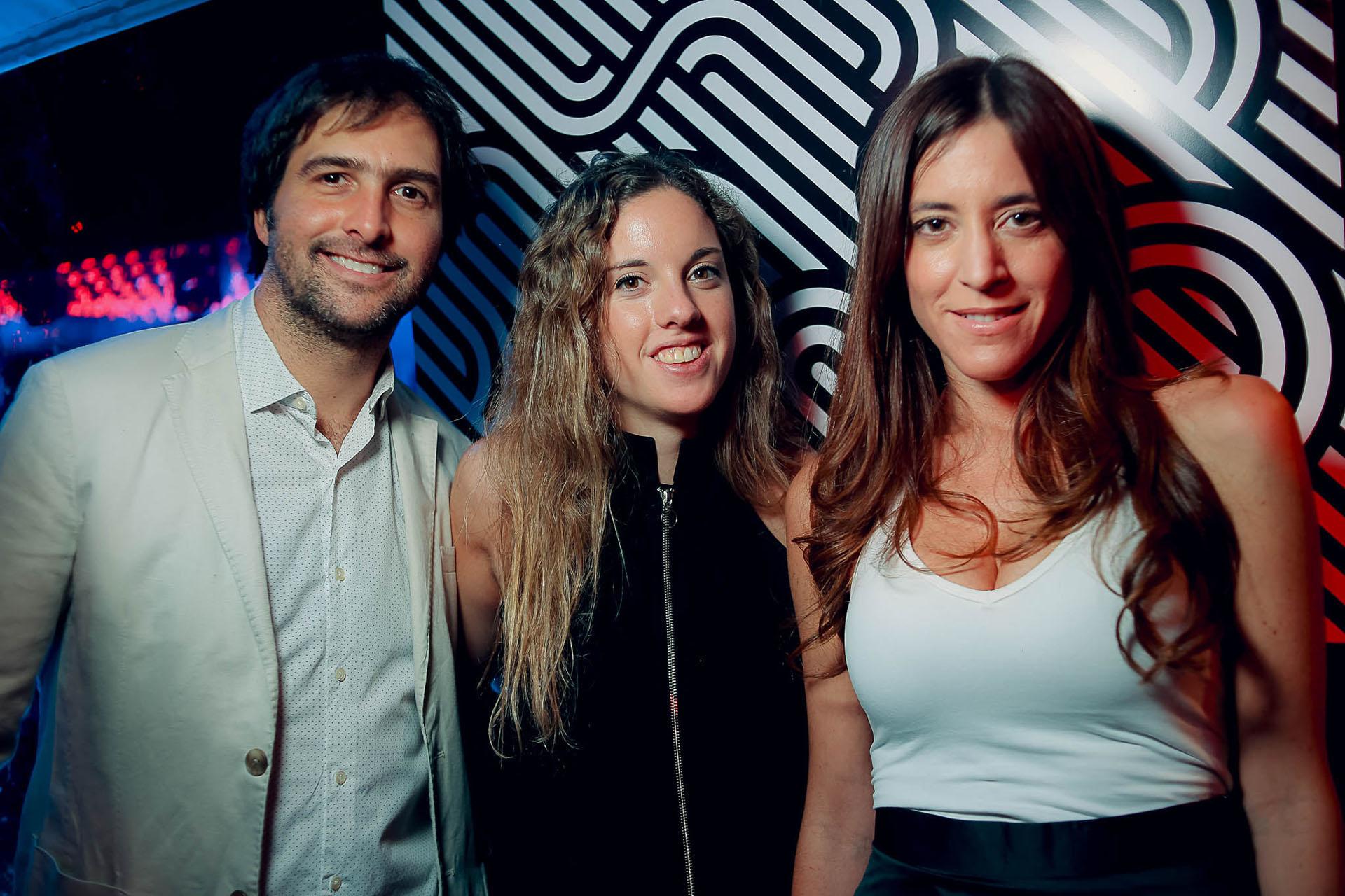 Ulises Ricchardi, Loli Martin y Herrera y Manuela Rattazzi