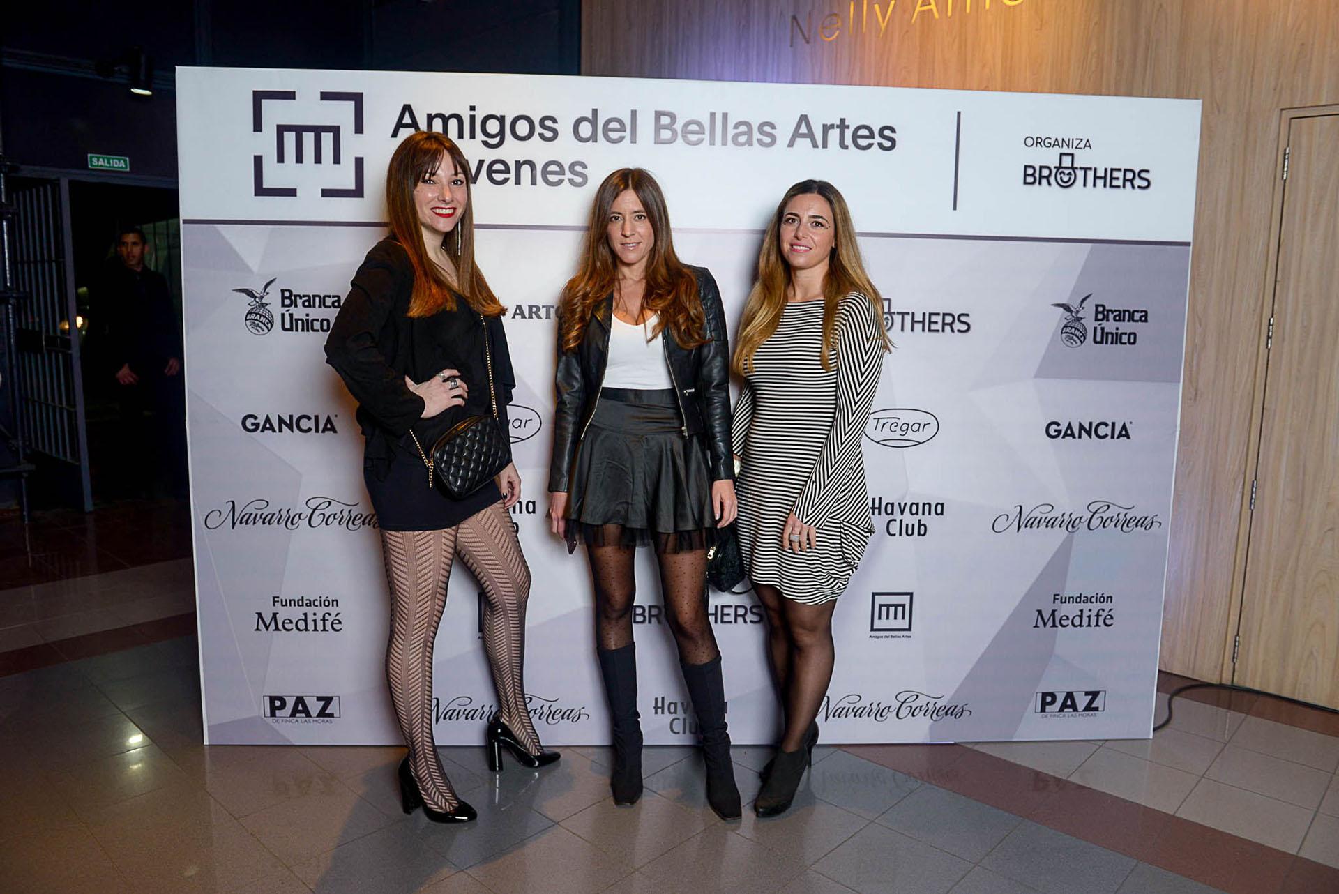 Luisina Lozada, Manuela Rattazzi y Marian Sarian