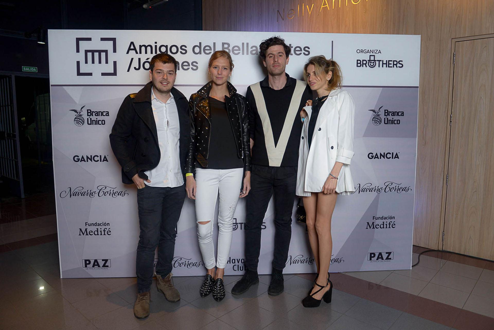 Sebastian Hidalgo Sola, Titi Stier, Ramiro Gandulfo y Gala Sucari