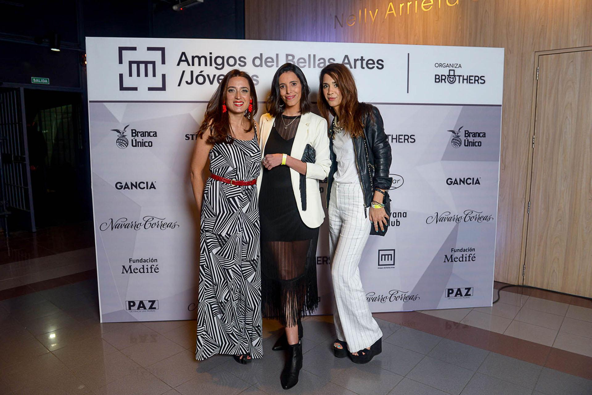 Magdalena Grüneisen, Caro Keser y Valeria Tagino