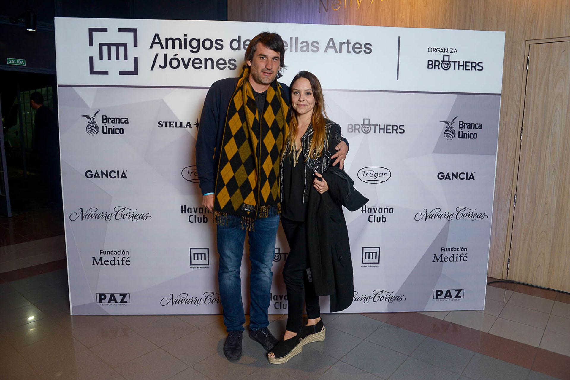 Maximiliano Gonella y Carolina Storni