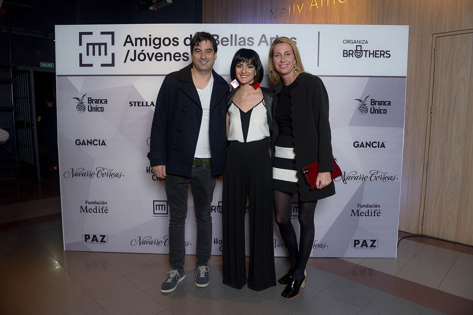 Ezequiel Braun, Sofía Pinto y Rita Maschwitz