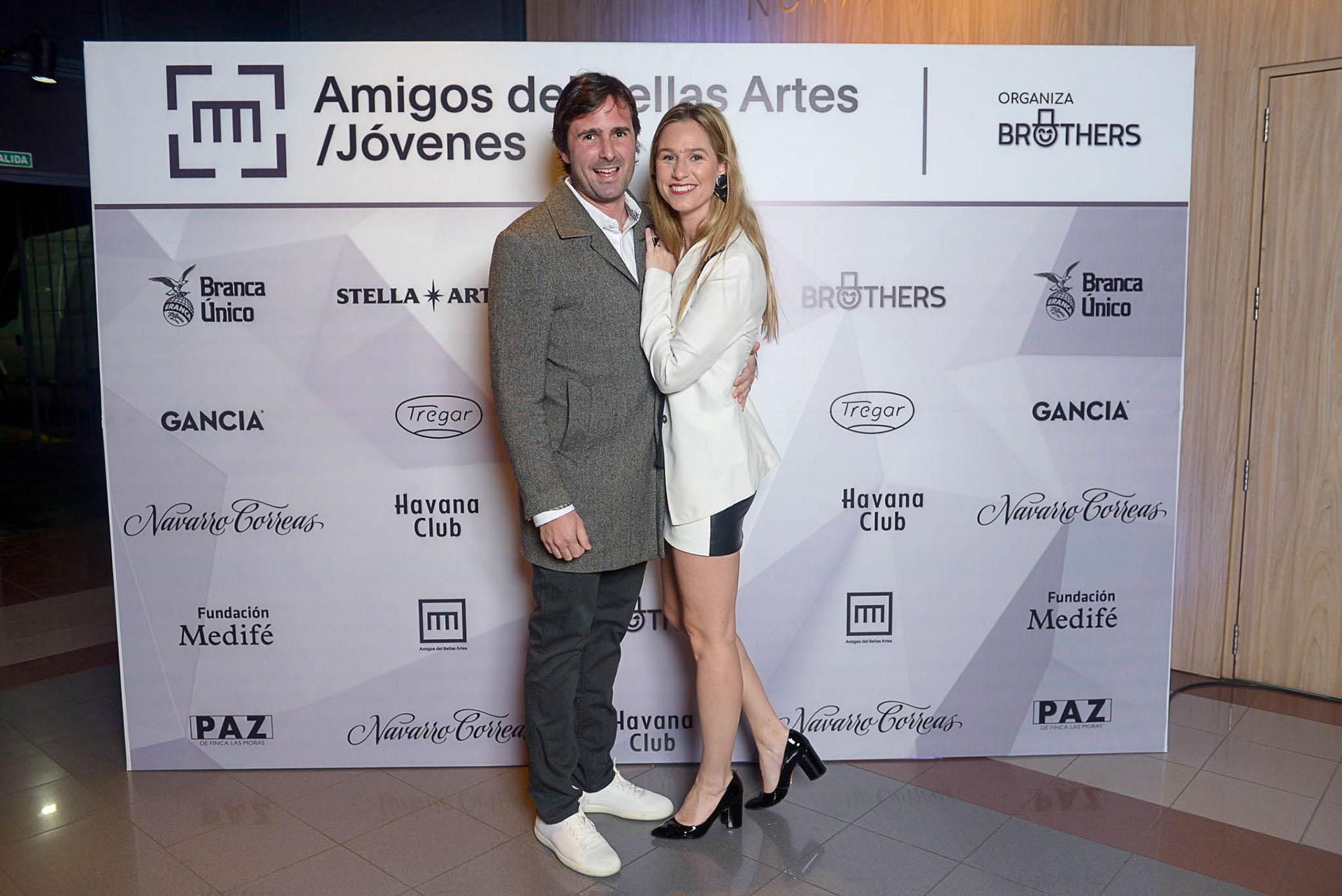 Nicolás Durrieu y Petty Saenz Rosas