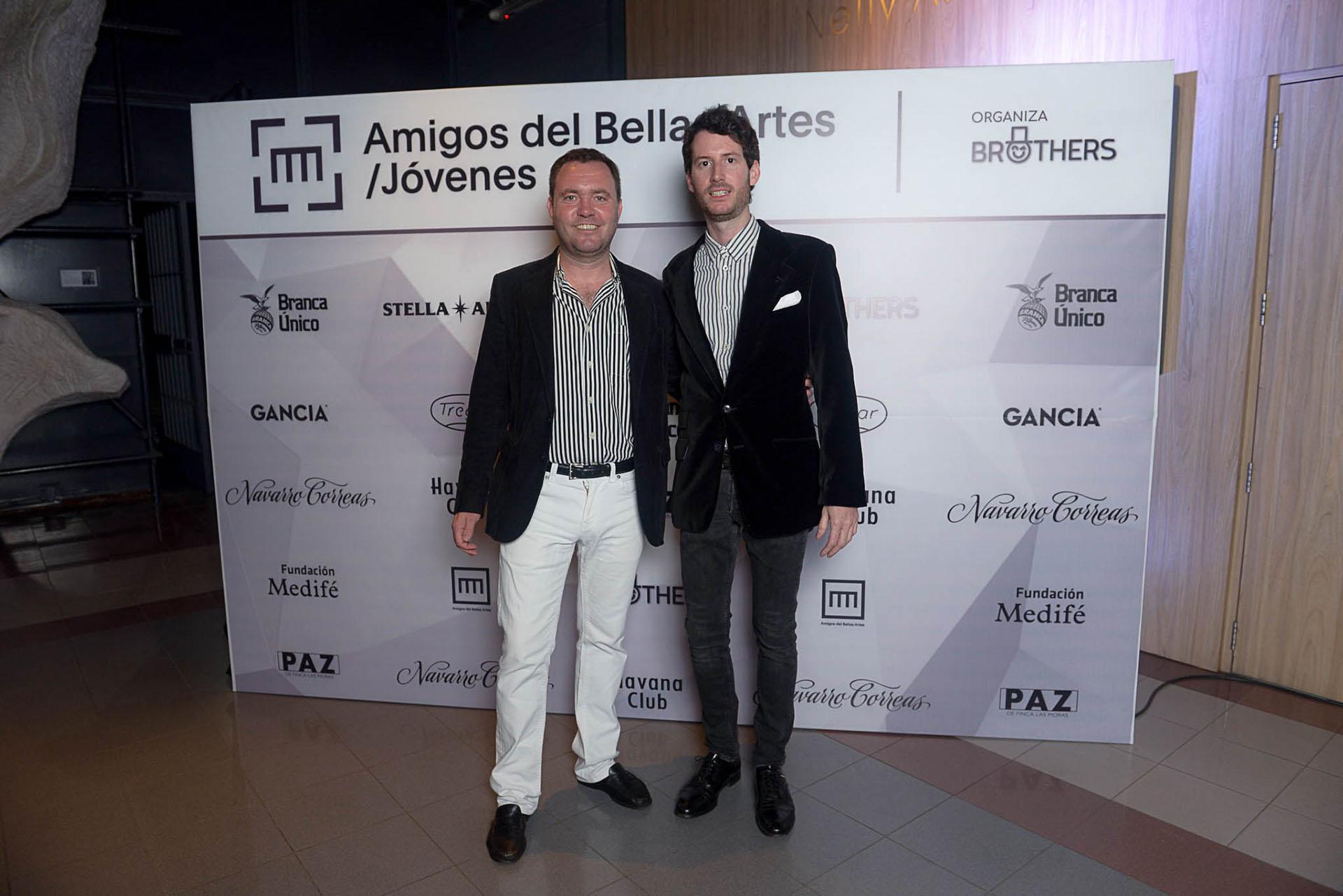 Matías Martins y Juan Pedro Tombeur