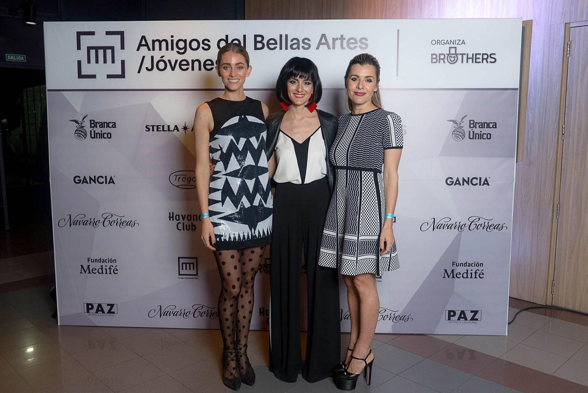 Sophia Blaquier, Sofía Pinto y Agustina Herrera