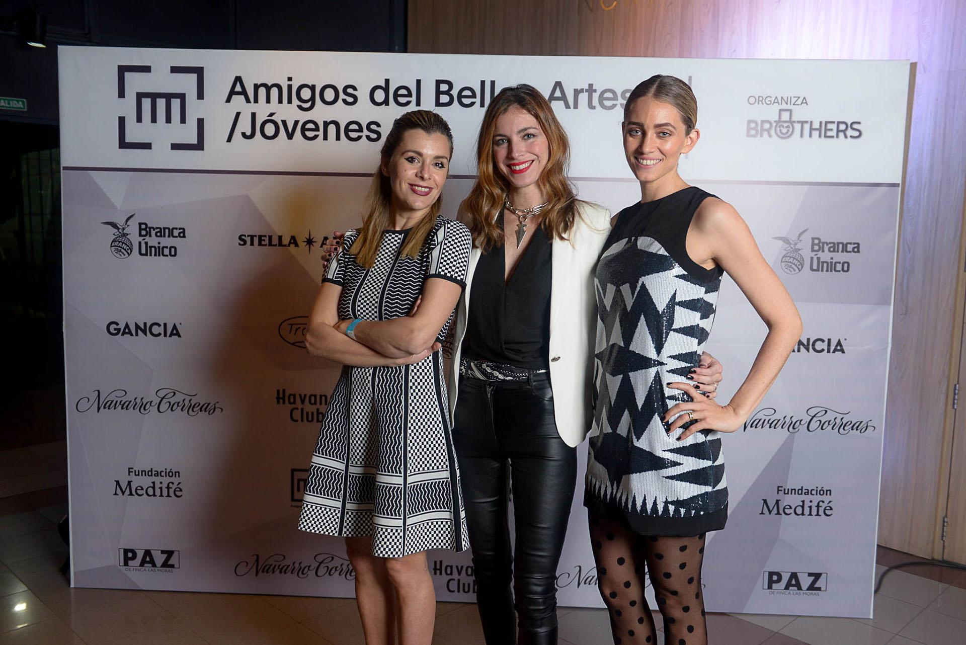 Agustina Herrero, Mariana Guerrico y Sophia Blaquier