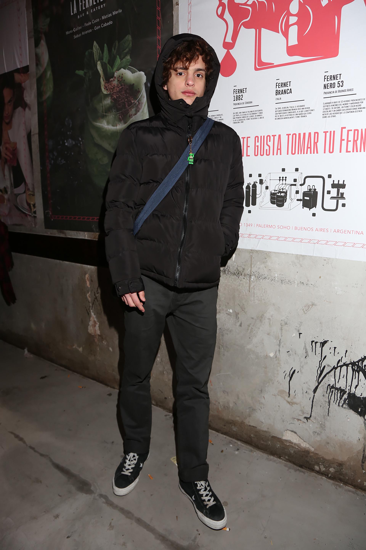 """Toto Ferro, el protagonista de """"El Ángel"""", la película que superó el millón de espectadores, estuvo en la apertura de La Ferneteria"""