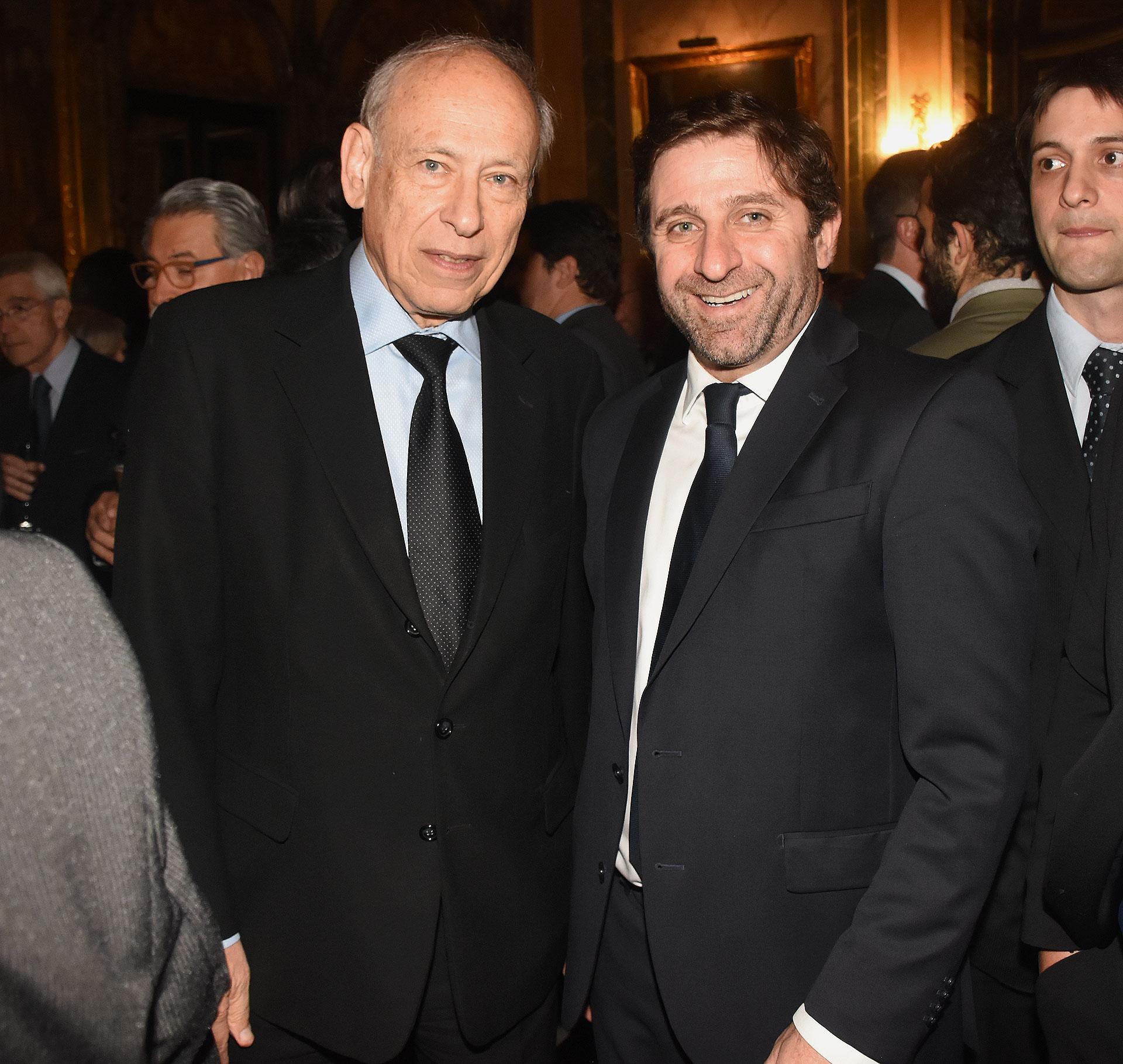 Luis Ovsejevich y Fernando Straface