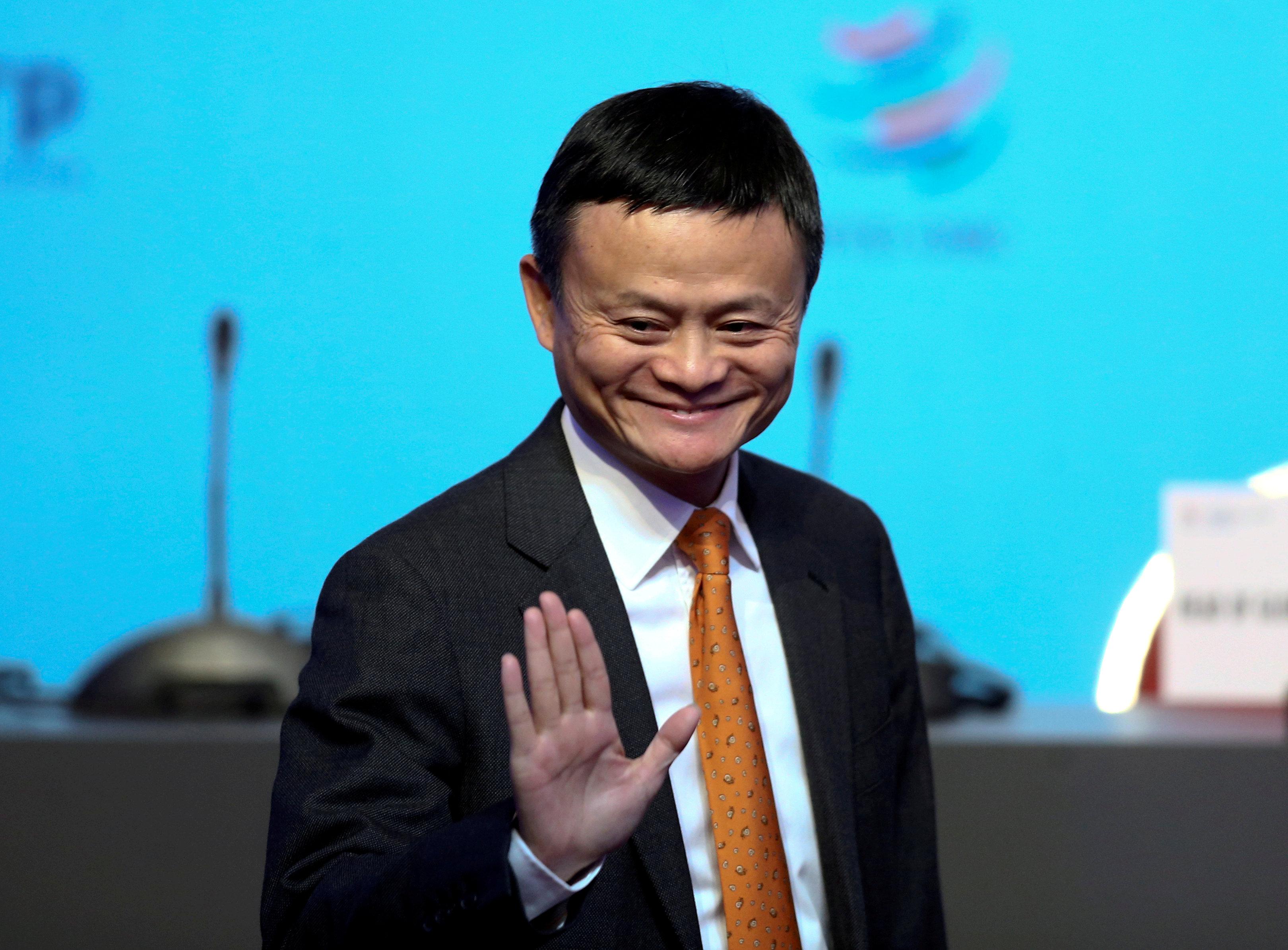 Jack Ma durante una conferencia en Buenos Aires. (REUTERS/Marcos Brindicci/File Photo)