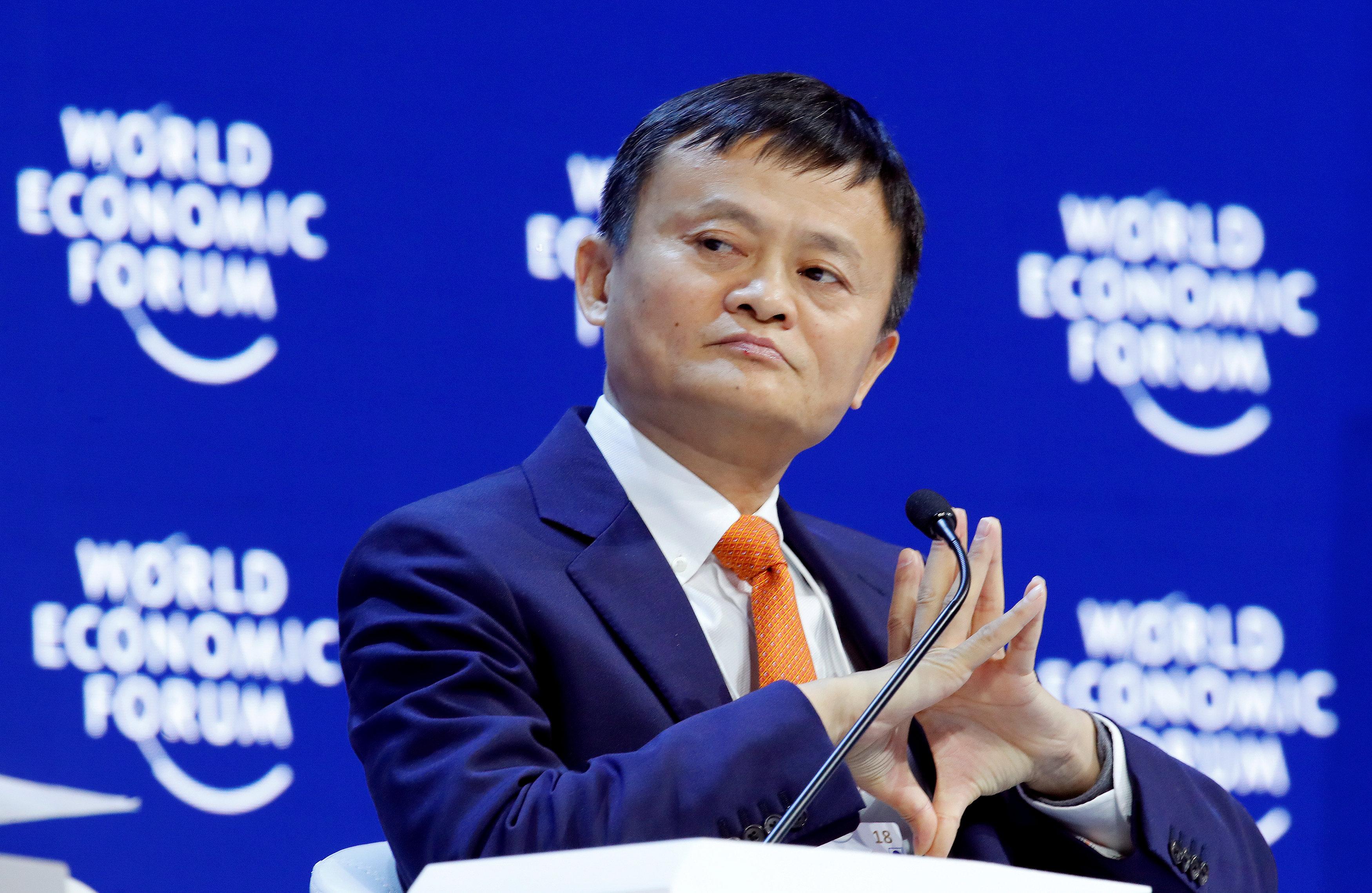 Jack Ma. (REUTERS/Denis Balibouse/File Photo)