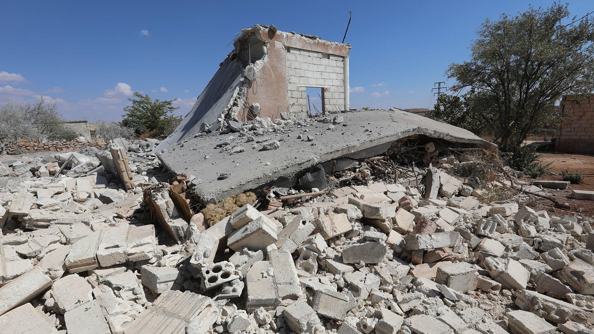 Bombardeos en Siria (AFP)