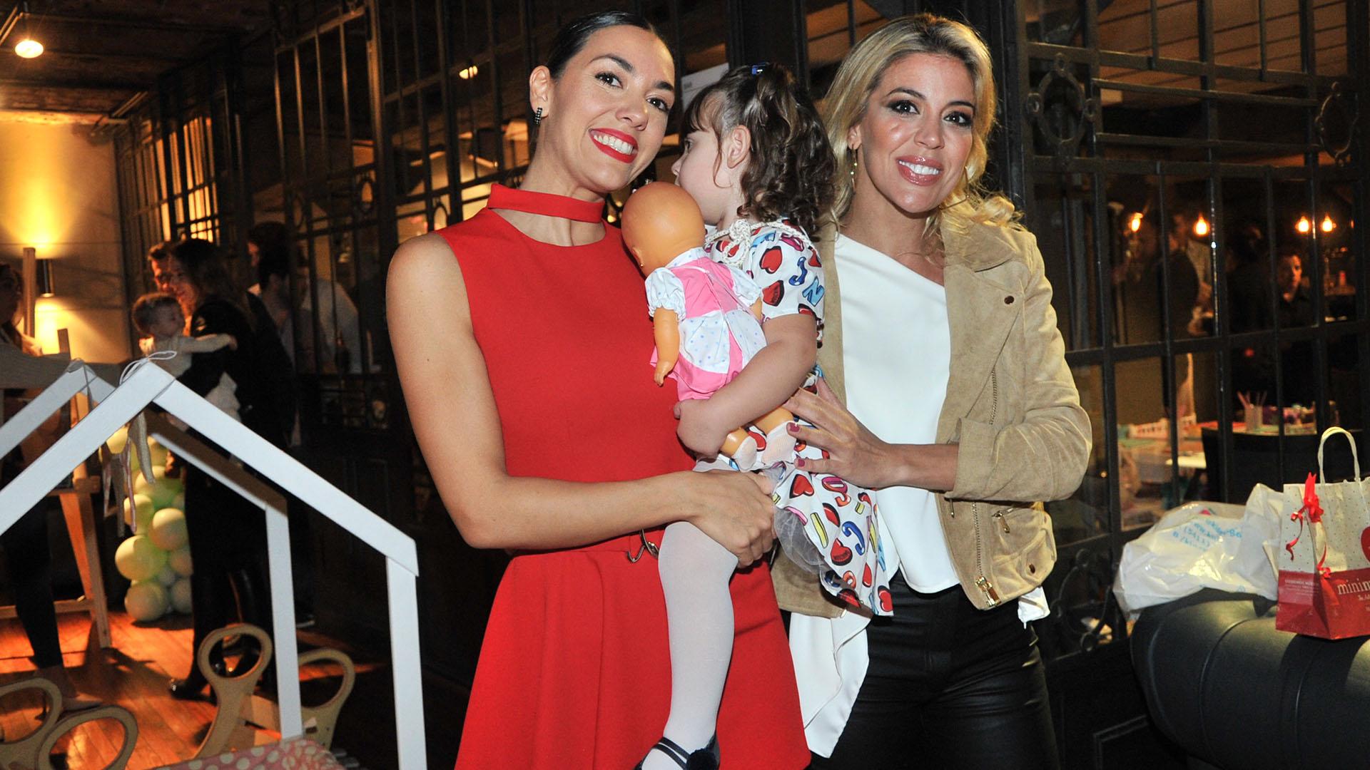 Virginia Gallardo fue una de las invitadas al cumpleaños de la pequeña