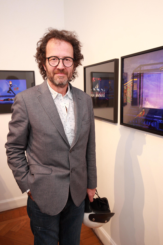 El artista Lucas Beccar Varela