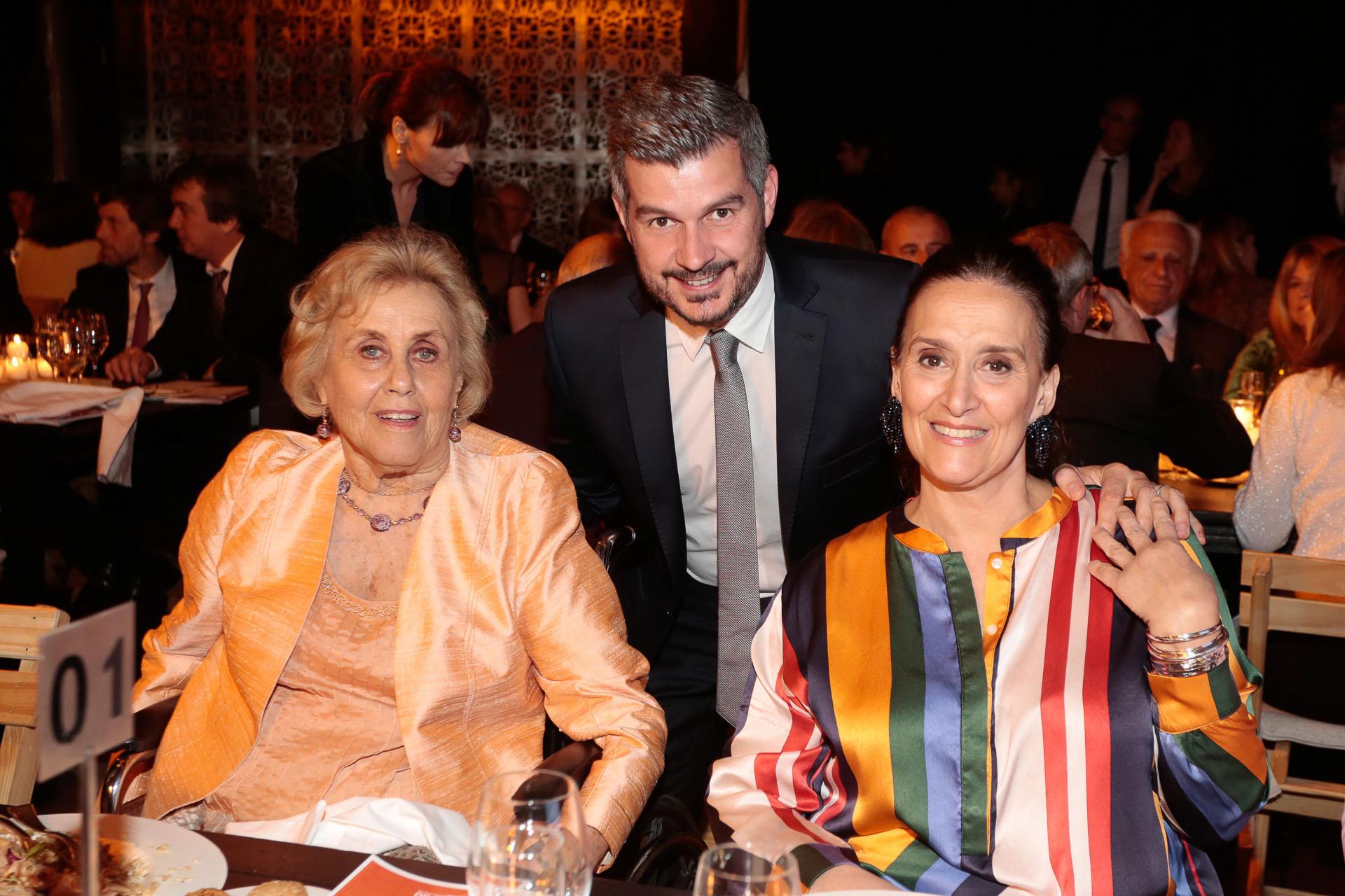 Jacqueline De las Carreras, Marcos Peña y Gabriela Michetti