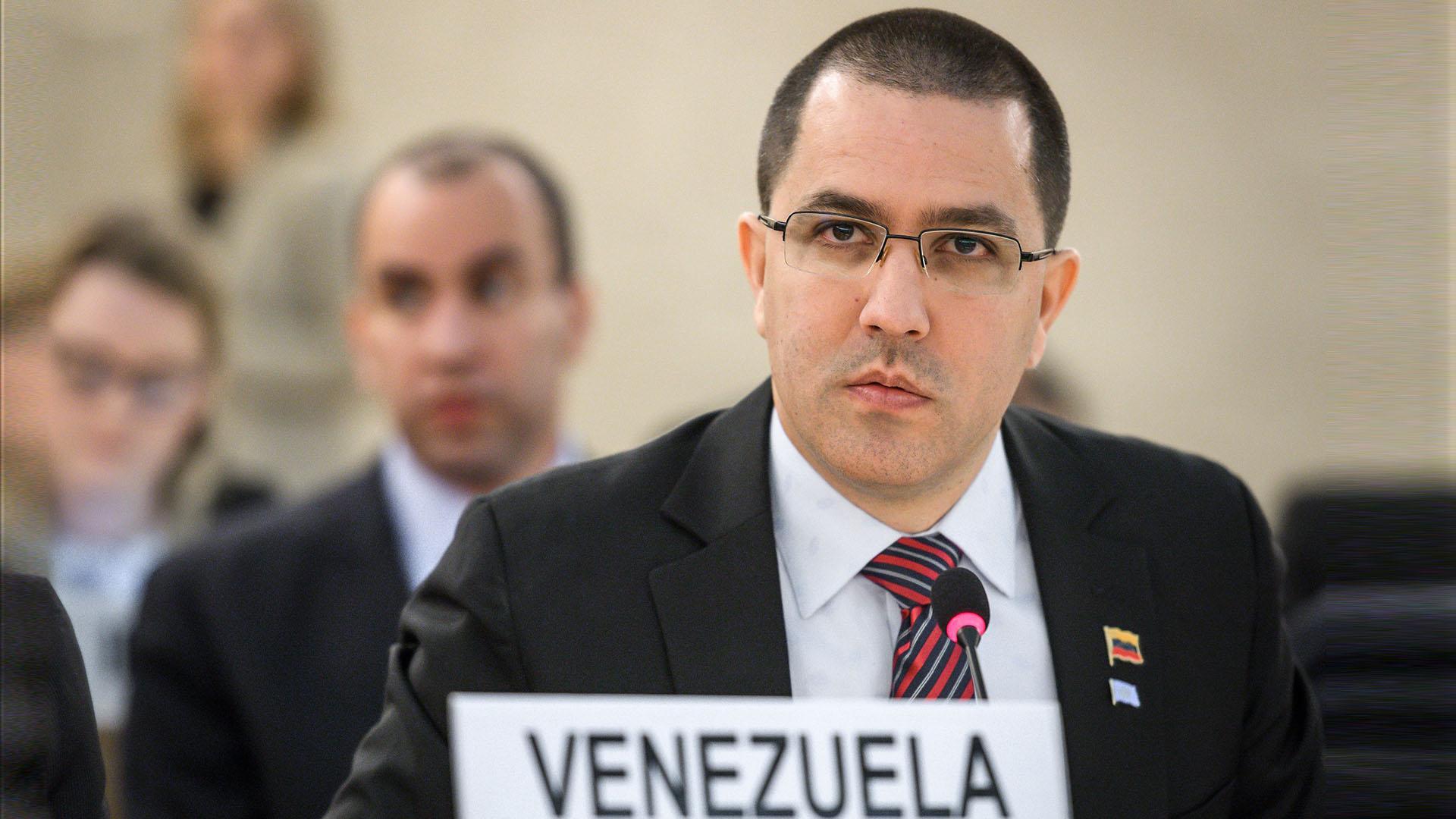 Jorge Arreaza (AFP)