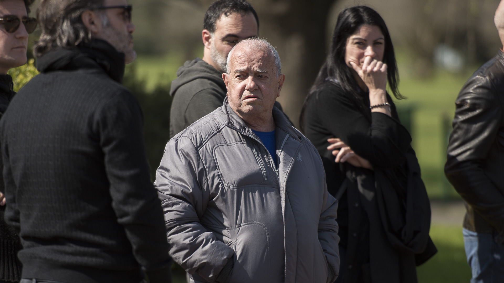 El tío de Araceli González, conmovido por la muerte de su hermana Rosa
