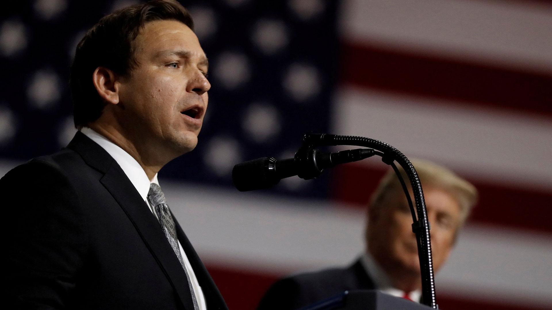 Ron DeSantis ganó la gobernación de Florida (Reuters)